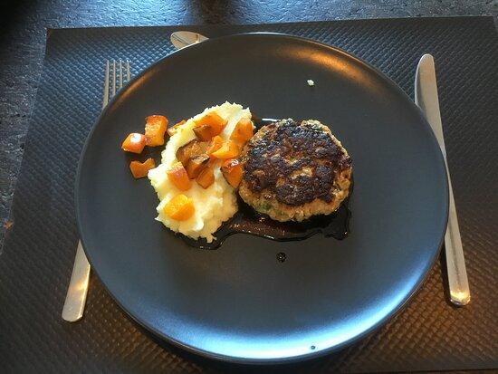 steak haché de veau fait maison