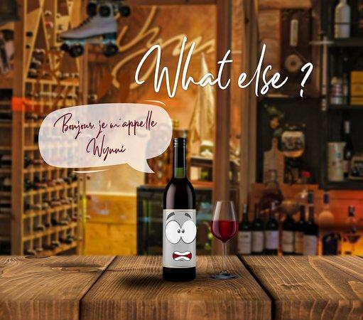 Bonjour, je m'appelle Wynni, ma carte variée de vins succulents français et internationaux fait de moi le premier et l'unique Bar à vins de Casablanca. L'AFTER WORK du Wynn, c'est tous les jours à partir de 17h. Info & Résa : 0661472501 Le Wynn, c'est la famille.