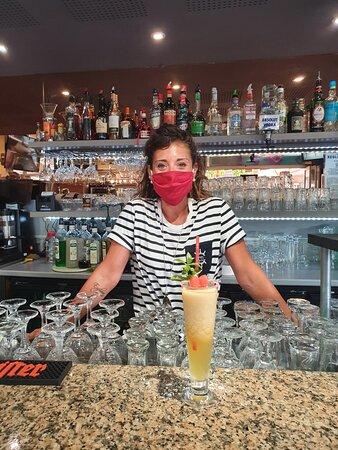 Venez découvrir les cocktails de Fiona au Marin