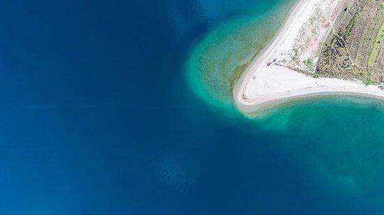 Seline, Croatia: Beach Svjetionik 2km from Apartments Diora 😍
