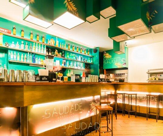 L'area bar del Saudade