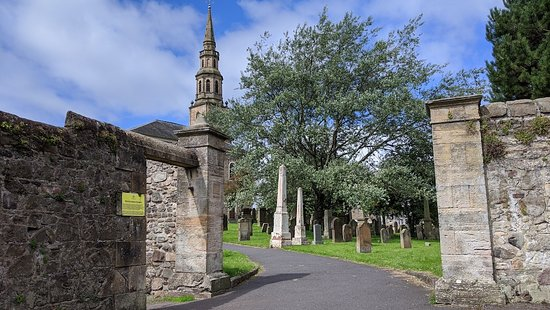 Irvine Heritage Trail - Irvine Old Parish Church