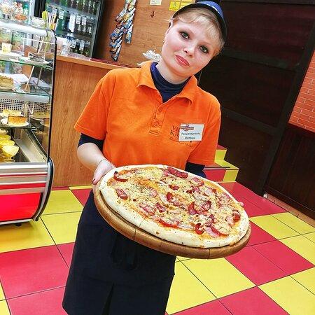 Красивая пицца