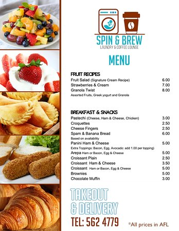 All the items from our menu are prepared al fresco and also by using our air fryer, super healthy and fresh