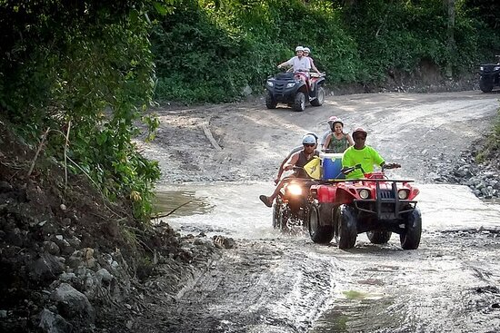 "Taino Bay Puerto Plata Shore Excursion: ATV Quads ""Let's Ride"""