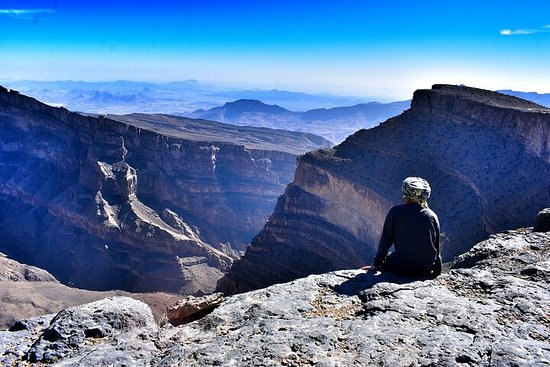 Oman Grand Canyon, Jebel Shams & Nizwa...