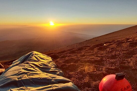 Mt. Etna sunset experience
