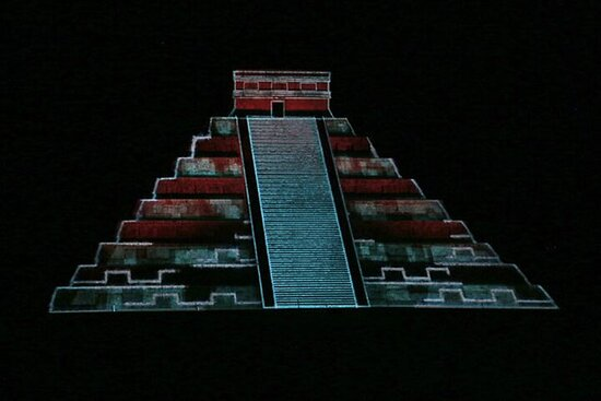 Kukulkan Nights in Chichen Itza - Light...
