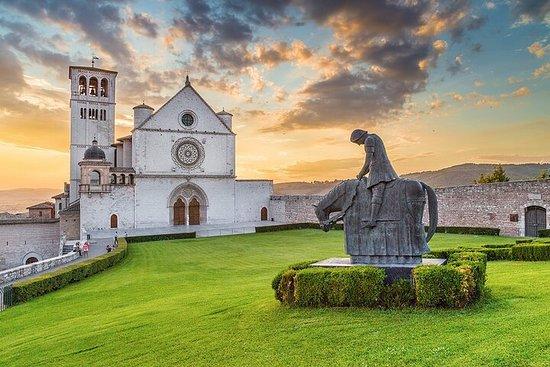 Excursion privée d'une journée de Rome à Assise, Spello et Spoleto