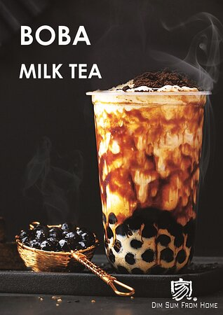 How about a BOBA milk tea!!!