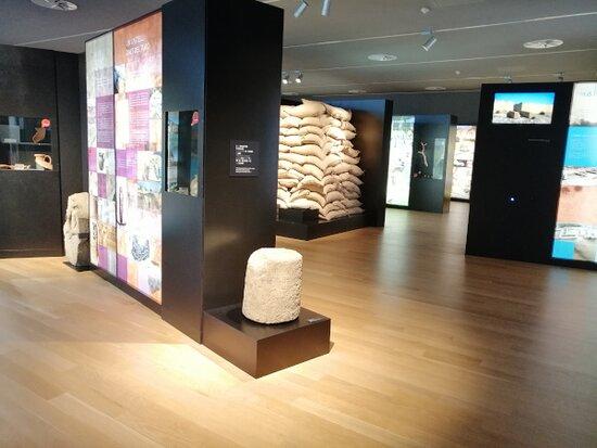 """A la sala d'exposicions permanent trobem l'exposició """"Cerdanyola, terra d'ibers"""", un viatge per descobrir qui eren els ibers, com vivien, com s'organitzaven i per què va desaparèixer la seva cultura."""
