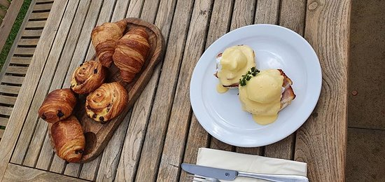 Eggs Benedict, & A Selection of Pastries