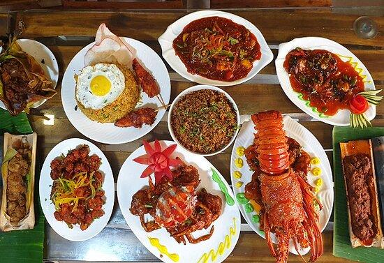 Santa's Fantasea Saltlake: Seafood Spread