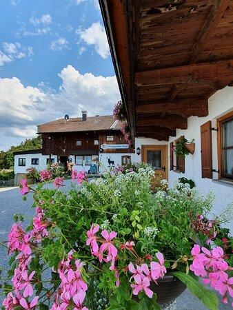 Beautiful mountain inn