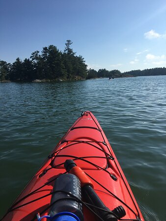 Whitefish, Canada: Typical peaceful paddle...so good for the soul!