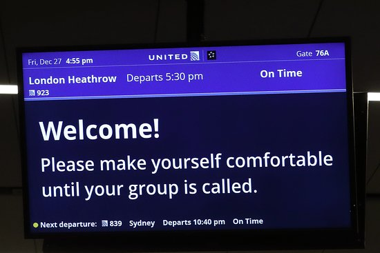 United Airlines: UA923 Los Angeles to London 787-9 (#3959) Polaris Seat 8L - LAX Airport