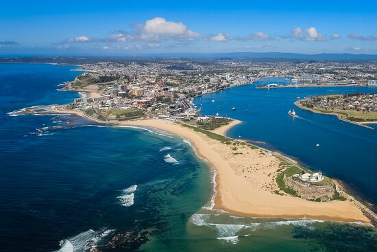 Newcastle is  maritime and beach city