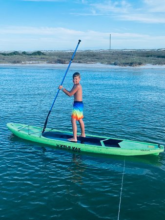 Everyone loves to paddle board!
