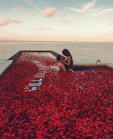 האיים המלדיביים: Aquele lindo fim de tarde nas Maldivas 📍😍❤🔝 I 📸@fashioneiress