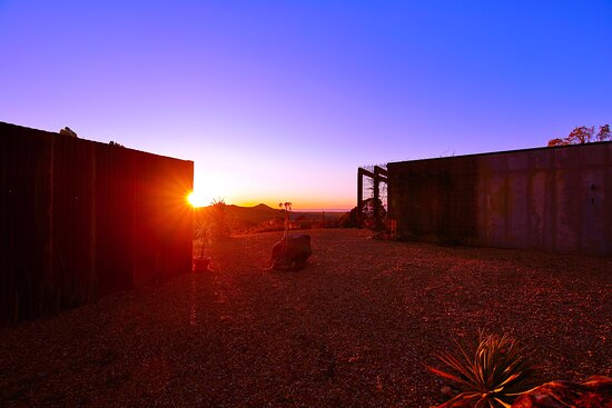 Gorgeous rustic architecture placed perfectly on top of the mountain to maximise the view towards the ocean