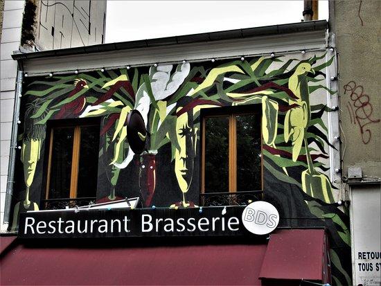 "Fresque ""au Traquenard"""