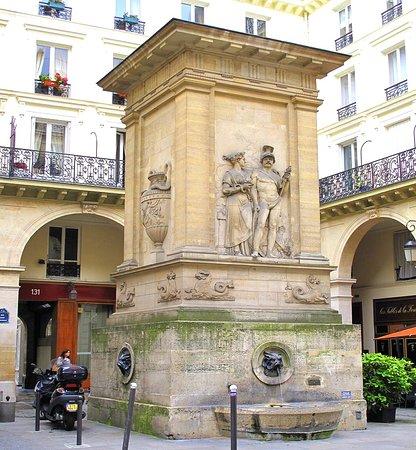 La Fontaine de Mars de Beauvallet