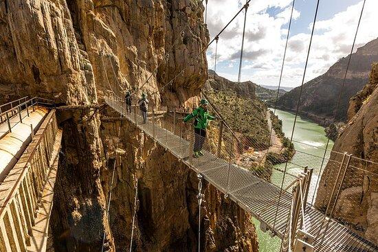 En heldagstur på Caminito del Rey fra...