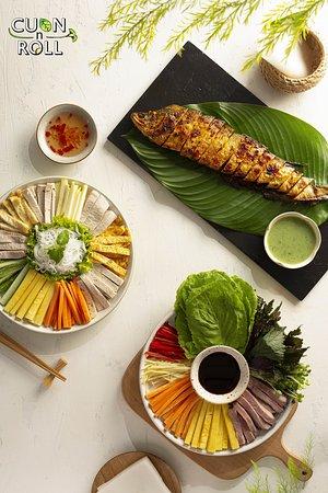 Món ăn Cuốn N Roll Trần Thái Tông