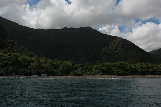 Molokai, HI: The campground is only accessible by boat