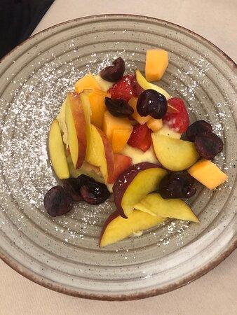 Crostatina di frutta fresca con crema pasticciera