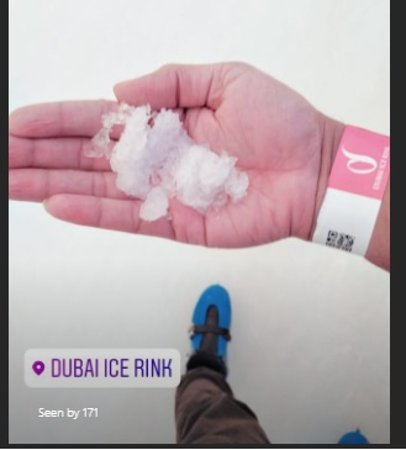 Dubai Ice Rink: The synthetic Ice
