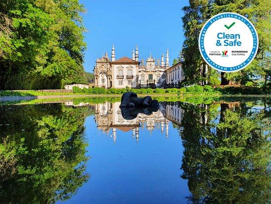 Vila Real, Portugal: Somos Clean&Safe. Visite-nos em total segurança e saiba tudo sobre os nossos programas em www.casademateus.pt