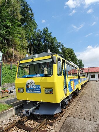 The old cog railway to the Wendelstein