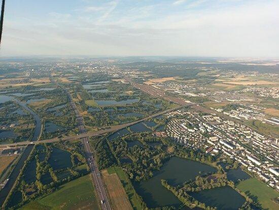 Les étangs du bord de l'A31..