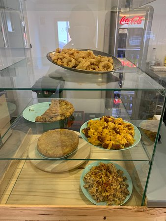Tapitas para acompañar el menú o almuerzo