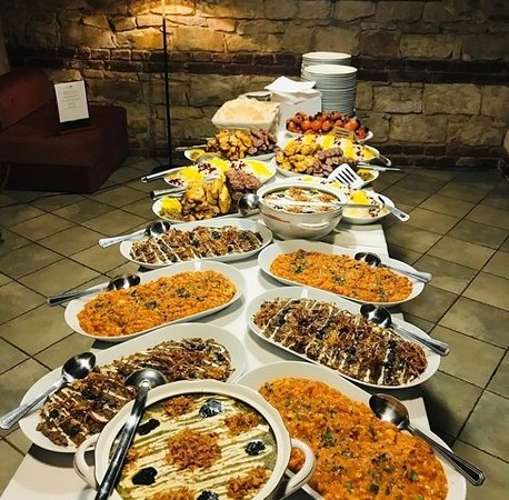 Iranian food is colourful