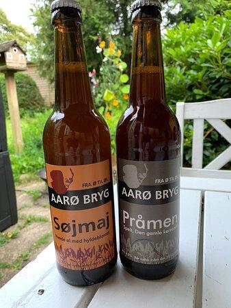 Årø, Danmark: Lille hyggeligt bryggeri