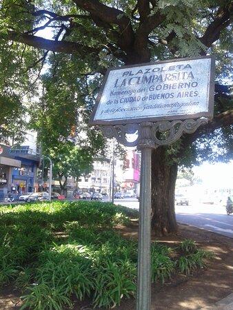 Plazoleta La Cumparsita: Cruce de Lavalle y Carlos Pellegrini- Microcentro Porteño- Ciudad de Buenos Aires- Argentina 2020.