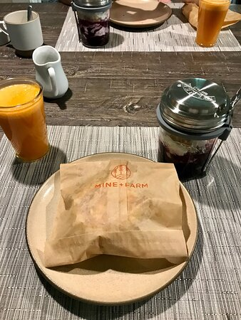 Delicious breakfast made with care.