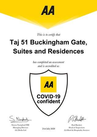 AA Covid -19 confident