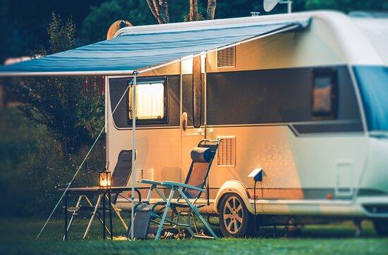 Krecovice, Češka Republika: 25 míst pro karavany a obytné vozy