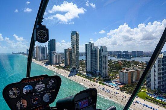 Miami e Ft. Tour in elicottero di Lauderdale con vista sull'oceano