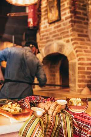 Wood Fired Oven - Traditional way of cooking