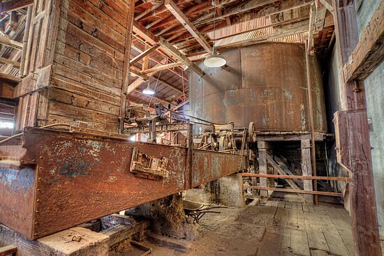 The Argo Mill founded in 1893 contained ingenious engineering in gold milling for its time.