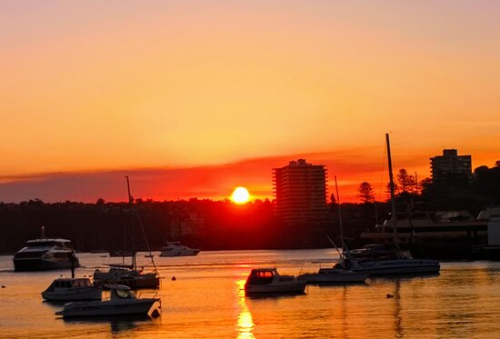 Manly sunset
