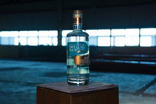 Skellig Six18 Artisan Pot Still Gin.