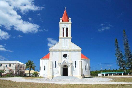 Ouvea, New Caledonia: Eglise Saint Joseph d'Ouvéa , /Church of Saint Joseph d'Ouvéa,