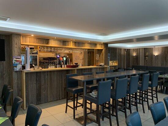 Vue intérieure du bar
