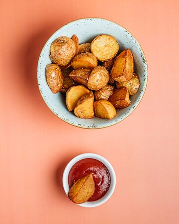 Baby fries with smoked paprika