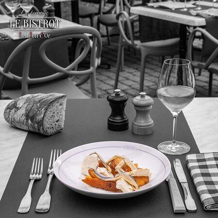 Melon charentais grillé, ricotta de brebis et anchois marinés